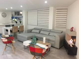 Diseño Arquitectónico y Remodelación Apartamento Loaiza - Rangel Salas modernas de INblatt _Arquitectura Moderno