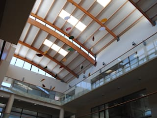 Decoración de espacios interiores edificio Consistorial Ilustre Municipalidad de Arauco, Chile. de Brito Arte y Diseño Moderno