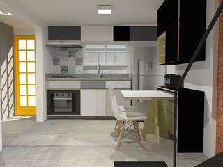 CASA20: Cozinhas  por kb | arqdesign,Industrial