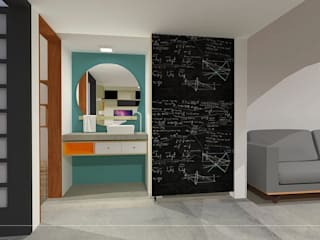 CASA20: Banheiros  por kb | arqdesign,Industrial