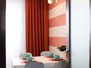 Однокомнатная квартира 40м2 в Гринпарке. Кухни в эклектичном стиле от Оксана Хартэк Эклектичный