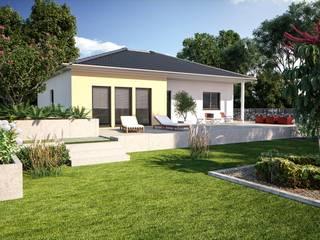Bungalowserie One Klassische Häuser von Bärenhaus GmbH - das fertige Haus Klassisch