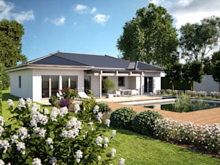 Bungalowserie One Moderne Häuser von Bärenhaus GmbH - das fertige Haus Modern