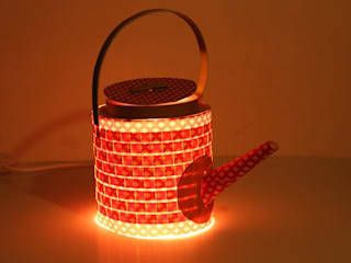 PAPER LAMP:  Dining room by aanchal handicrafts