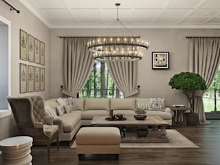 Living room by Wide Design Group