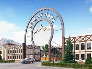 Визуализация коттеджного поселка «Бештау Парк» для инвесторов от Москоу Дизайн Кантри