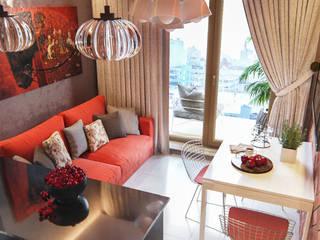 Современный дизайн. Квартира 68м2 Кухня в скандинавском стиле от PRO-DESIGN Скандинавский