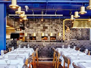 Tegels voor The Roastroom:  Gastronomie door Harlinger Aardewerk en Tegelfabriek