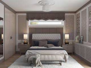 'PRimeART' Eclectic style bedroom Beige