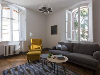 Moderne Wohnzimmer von Melissa Giacchi Architetto d'Interni Modern