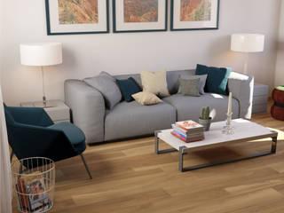 Gres effetto legno by Paul&Co Ceramiche:  in stile  di MK Designer Studio | Project & 3D ArchViz