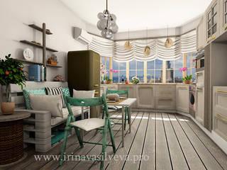 Cozinhas ecléticas por Irina Vasilyeva Eclético