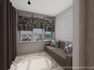 에클레틱 침실 by Irina Vasilyeva 에클레틱 (Eclectic)