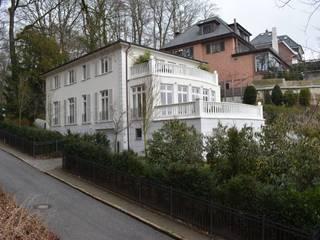 Süd- Westansicht:  Häuser von Architekt Witte