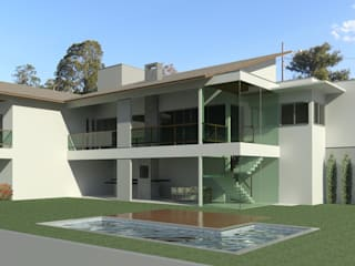 Residencia Riviera do Lago 02 por Gustavo Bomfim ARQUITETURA E URBANISMO