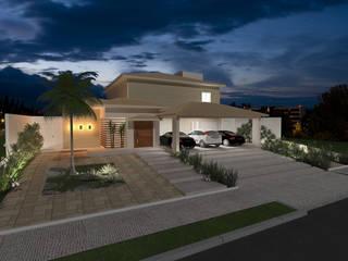 Residência :   por Aline Santa Rosa | Arquitetura e Interiores,