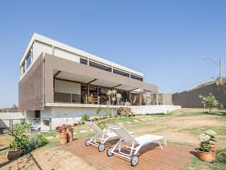 Casa do Cerrado CoGa Arquitetura Casas modernas