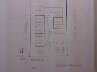 Residencia Quinta dos Lagos 02 Casas modernas por Gustavo Bomfim ARQUITETURA E URBANISMO Moderno