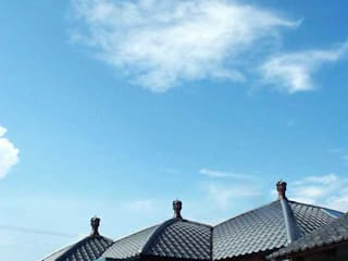 IRO HAUS 日本家屋・アジアの家 の IROHA ARCHITECTS DESIGN OFFICE 和風