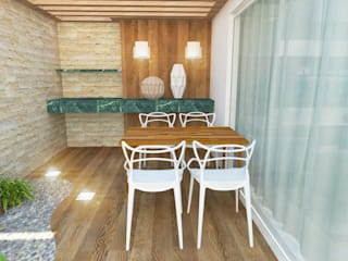 Casa DC Jardins minimalistas por Cartibani Arquitetura Minimalista