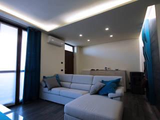 INTERIOR DESIGN | RENOVATION OF THE HOUSE D Soggiorno moderno di FLAPstudio | ArchitecturalDesignLAB Moderno