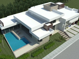 Casas modernas de JCWK arquitetura (jancowski arquitetura) Moderno