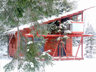 Дом с ёлкой 45 кв.м.:  в . Автор – Ченцов Михаил,