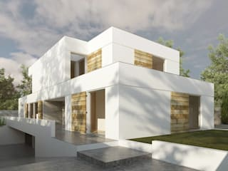 Casas modernas: Ideas, imágenes y decoración de MARQA - Mello Arquitetos Associados Moderno