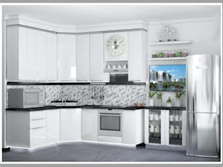 Рязанова Галина Minimalist kitchen White