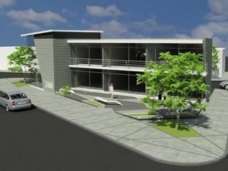 Locales Comerciales en salta Casas modernas: Ideas, imágenes y decoración de MAJA arquitectura & construcción Moderno