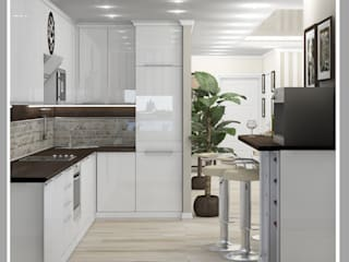 Рязанова Галина Minimalist kitchen