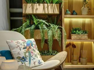 Apartamento ME Varandas, alpendres e terraços modernos por Dome arquitetura Moderno