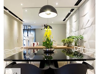 Modern dining room by Alessandra Orsi - Studio OKA Arquitetura Modern