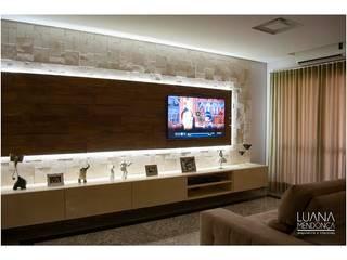 Sala TV:   por Luana Mendonça Arquitetura