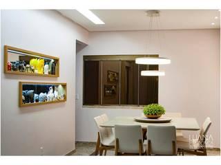 Sala Jantar:   por Luana Mendonça Arquitetura