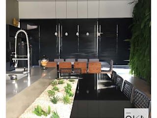 Modern style kitchen by Alessandra Orsi - Studio OKA Arquitetura Modern