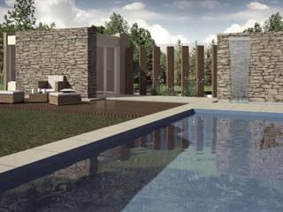 Modern pool by PROUN Modern