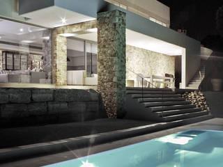 Casa Tausch Piscinas de estilo moderno de Rob Dubois · arquitecte Moderno