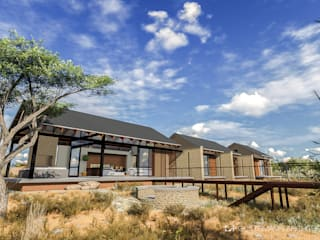 Game Lodge, Rustenburg:  Houses by Gottsmann Architects