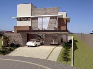 Residência MDS Casas modernas por Hamilton Turola Arquitetura e Design Moderno