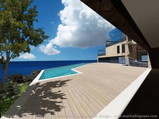 Villa fronte mare - Corfu: Case in stile  di mattia frignani