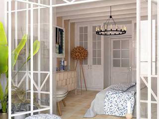 Квартира в Нагатино Спальня в скандинавском стиле от Architectured - мастерская Маргариты Рассказовой Скандинавский