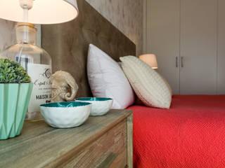 Спальня в стиле лофт от GF Designers de Interiores Лофт