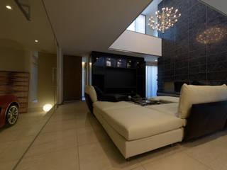桜が丘の家: アークス建築デザイン事務所が手掛けた現代のです。,モダン