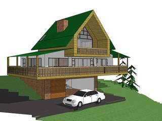 Casas de estilo rural de Le.tengo Arquitectos Rural
