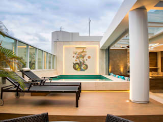 Terrace by Rosset Arquitetura, Modern