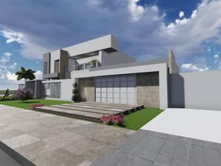 Casas modernas de Caroline Argenta e Elisangela Chioca Moderno