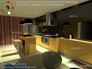 DISEÑO DE INTERIORES CON FENG HUI de ARQUITECTURA FENG SHUI Minimalista