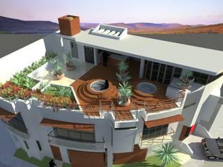 Terreza en Azotea : Terrazas de estilo  por Lobato Arquitectura