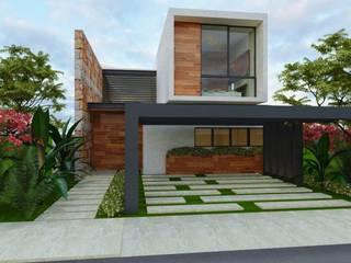 Art.chitecture, Taller de Arquitectura e Interiorismo 📍 Cancún, México. Modern Houses